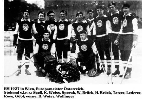 Eishockey Europameister 1927